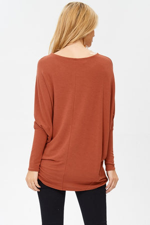 Must Have Dolman Top - Cinnamon