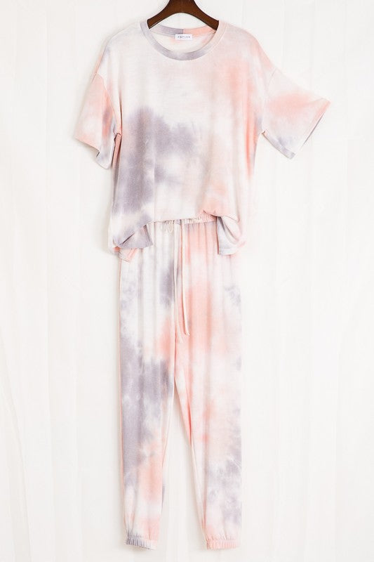 Sunrise Oversized Tie Dye Top