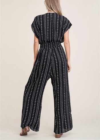 Boho Dreams Black Jumpsuit