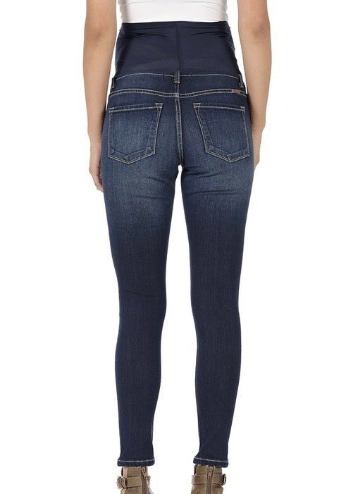 Kan Can Maternity Dark Wash Basic Jeans