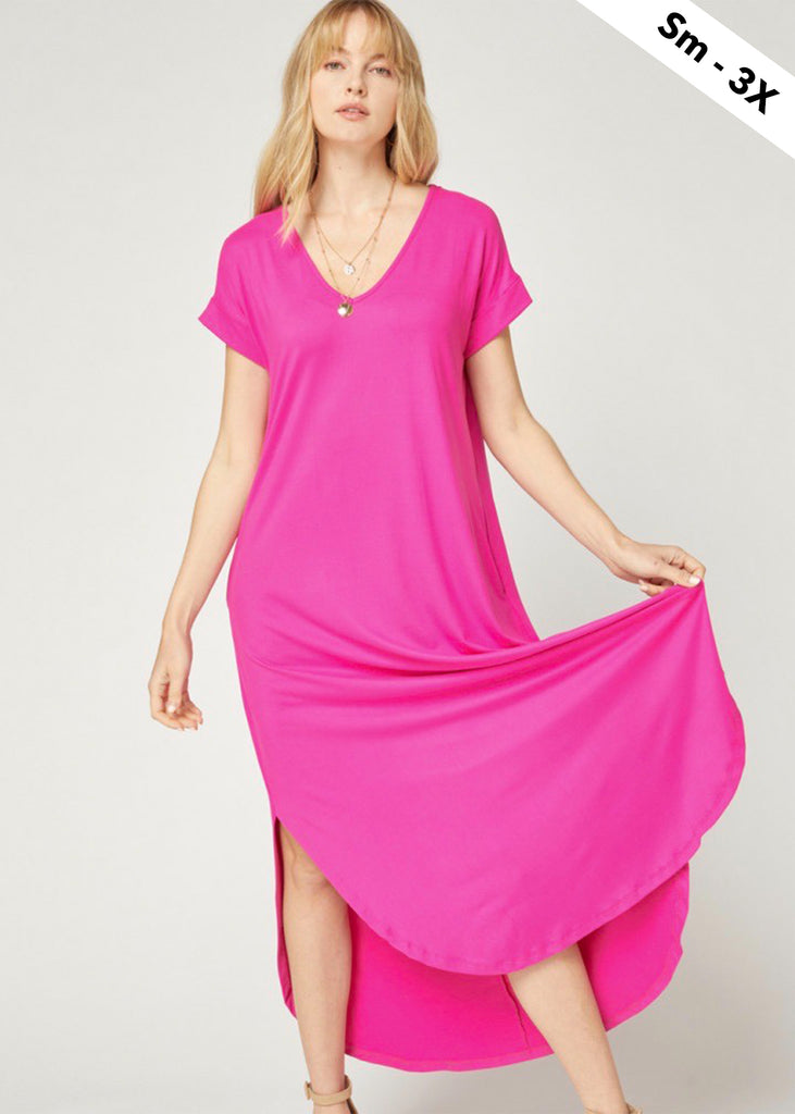 Buttery Soft Maxi Dresses - 4 Colors!