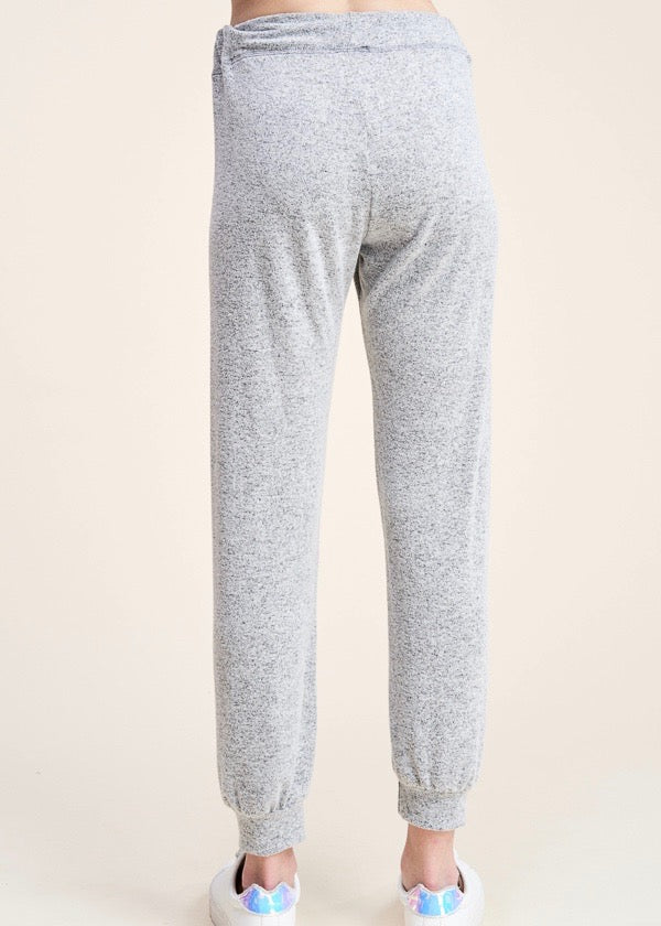 Soft Heather Gray Joggers