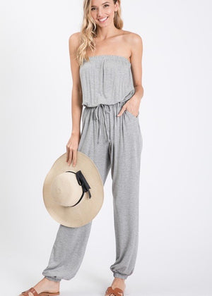 Strapless Jumpsuits