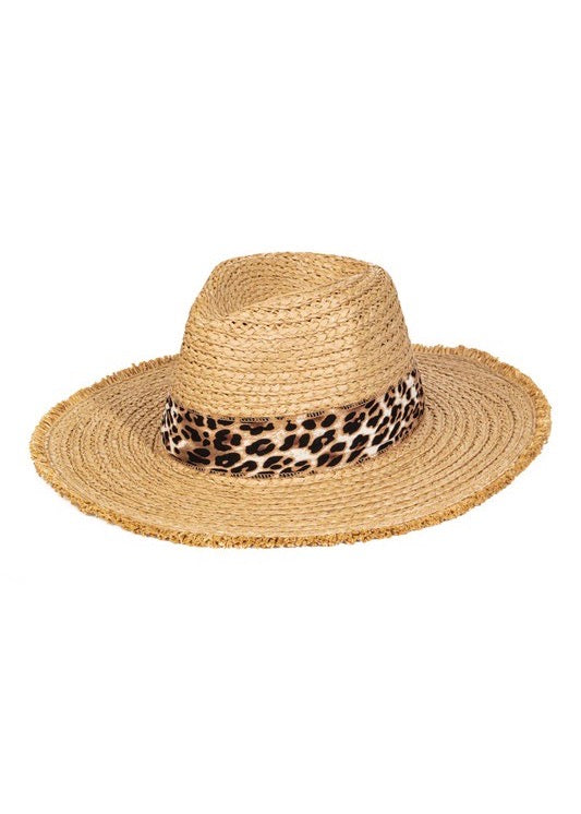Cheetah Band Sun Hat