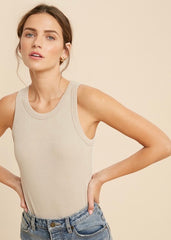 Ribbed Tank Bodysuits -2 Colors!
