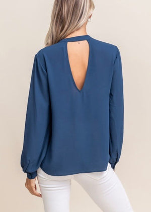 Life of the Party Chiffon Top - Teal