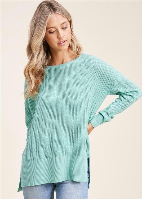 Spring Waffle Tops - 3 Colors!