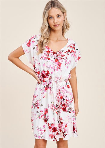 In Love With Spring Floral Dresses - 2 Colors!