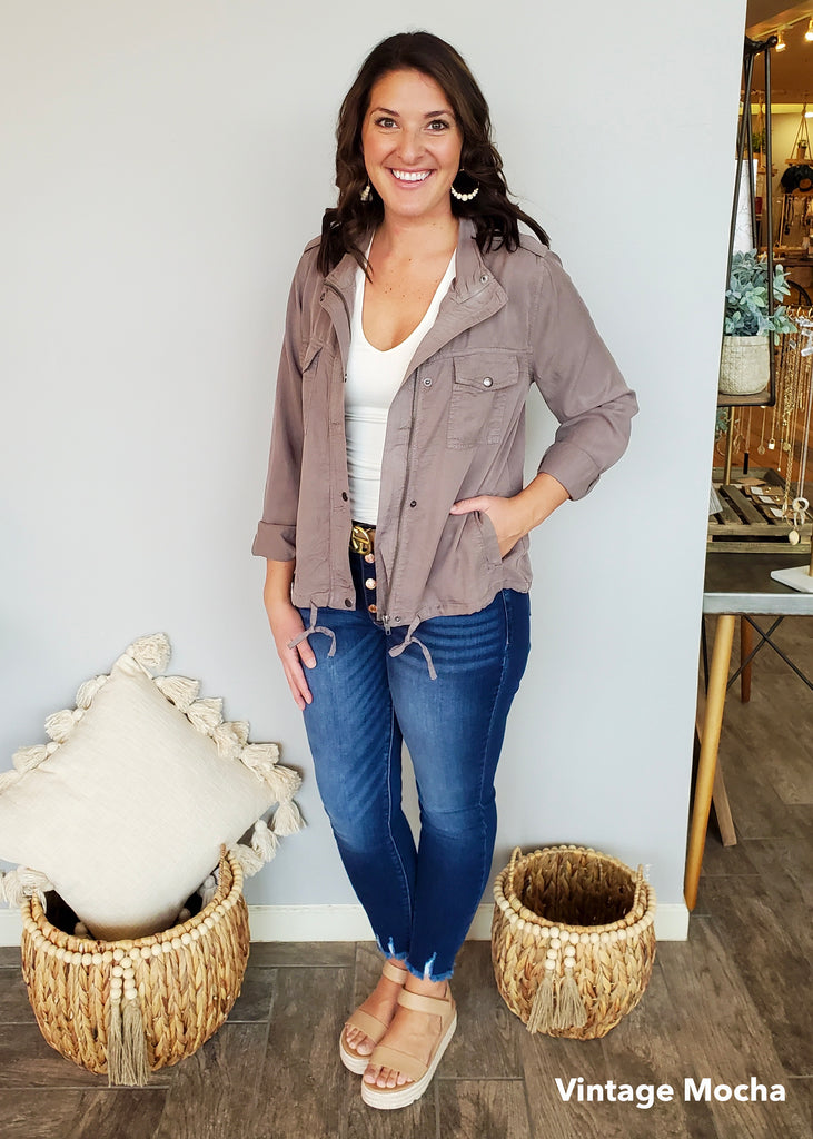 Tencel Spring Jackets - 5 Colors!