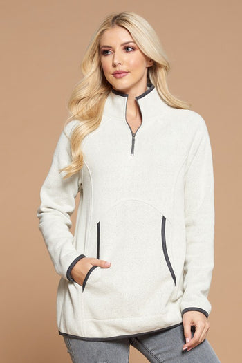 Contrast Pocket Pullovers
