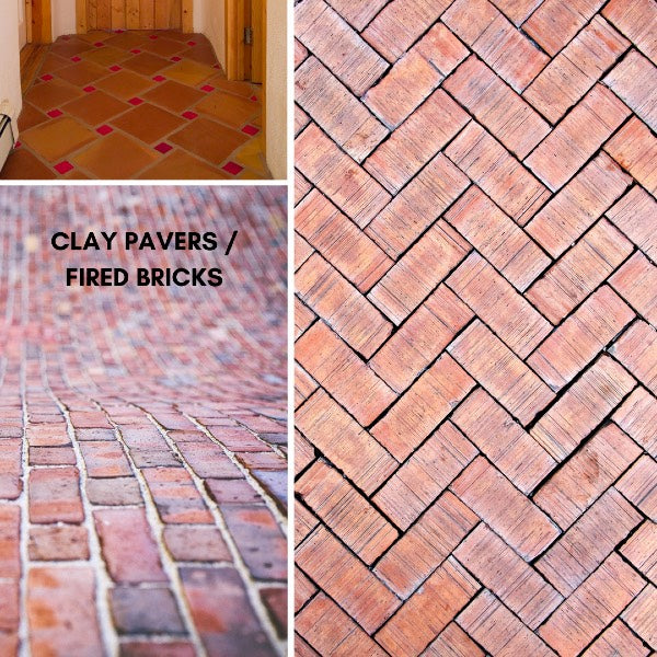 Clay Pavers - Fired Brick