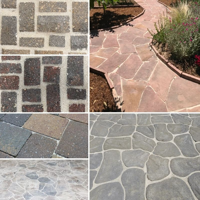 Natural Polymeric Sand Examples