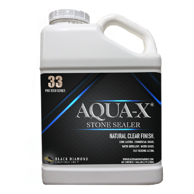 AQUA-X 33 - Clear, Penetrating Natural Stone Sealer and Clay Brick Sealer