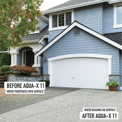 AQUA-X 11 - Natural Appearance, Penetrating Concrete Sealer and Stone Sealer