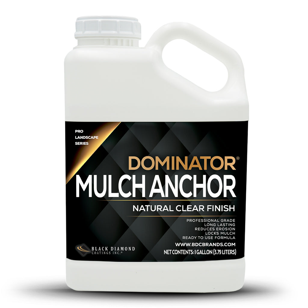 DOMINATOR Mulch Anchor - Locks Mulch, Reduces Erosion