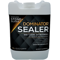 DOMINATOR STONE+ GLOSS - Wet Look Satin Finish Stone Sealer and Clay Brick Sealer