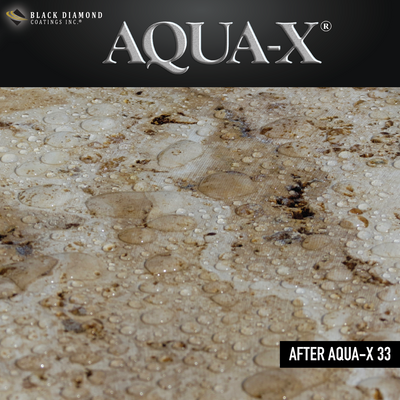 Black Diamond Coatings Inc. - AQUA-X 33 Stone Sealer