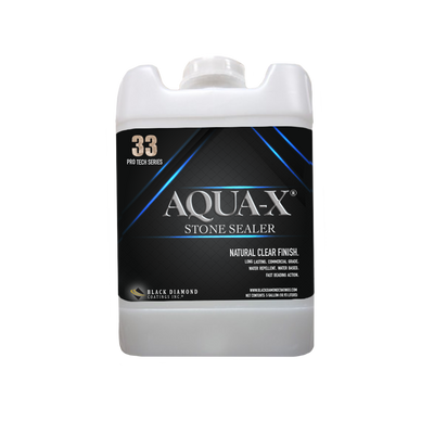 Black Diamond Coatings Inc. - 5 Gallon AQUA-X 33 Stone Sealer