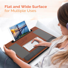 Load image into Gallery viewer, Kavalan Laptop Desk with Mouse & Wrist Pad, Right & Left Handed Design