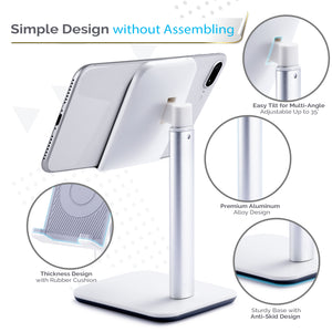 Kavalan Height Adjustable Aluminum Cellphone Stand Holder