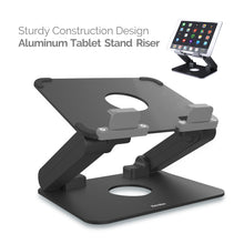 Load image into Gallery viewer, Kavalan Aluminum Height Adjustable Tablet Stand