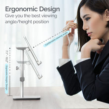Load image into Gallery viewer, Kavalan Height & Angle Adjustable Aluminum Smartphone & Headset Stand