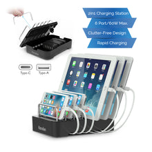 Load image into Gallery viewer, Kavalan 2-in-1 6 Port Charging Station