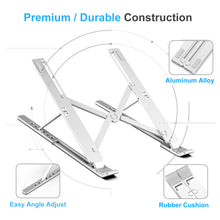Load image into Gallery viewer, Kavalan Aluminum Adjustable Laptop Stand Riser