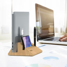 Load image into Gallery viewer, Kavalan Vertical Laptop Stand Dock
