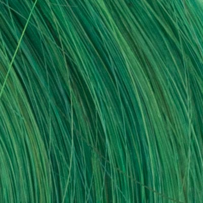 Hair Healing Color Swatch Green