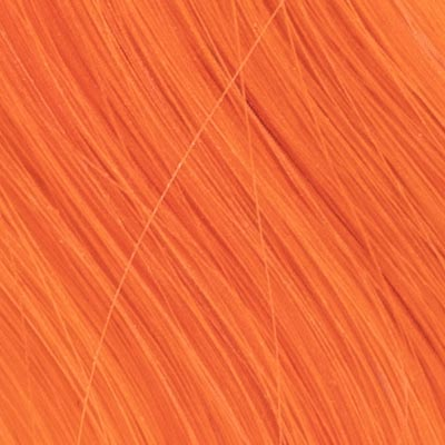 Hair Healing Color Swatch Orange