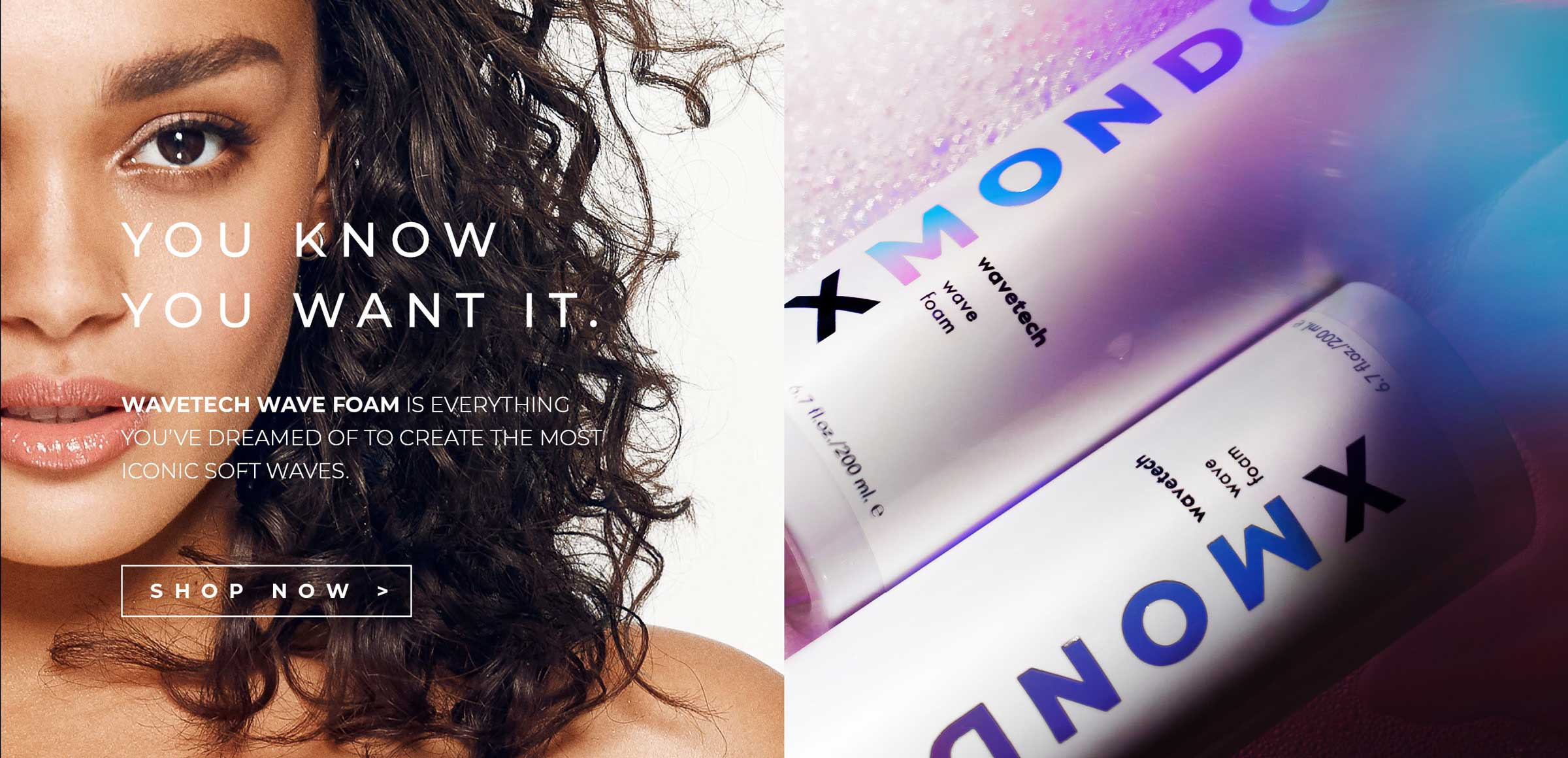 Wavetech Wave Foam is everything you've dreamed of to create the most iconic soft waves.