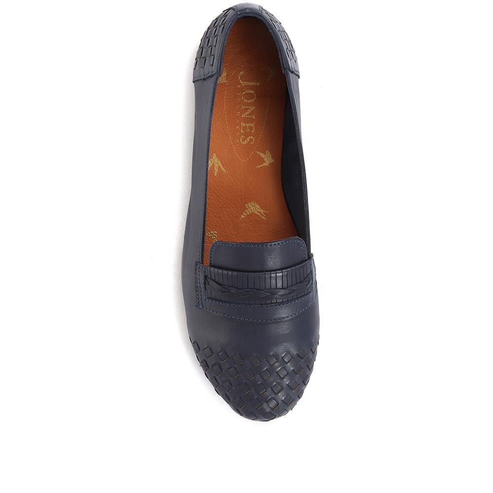 Mariah Woven Leather Loafers - MARIAH / 320 179