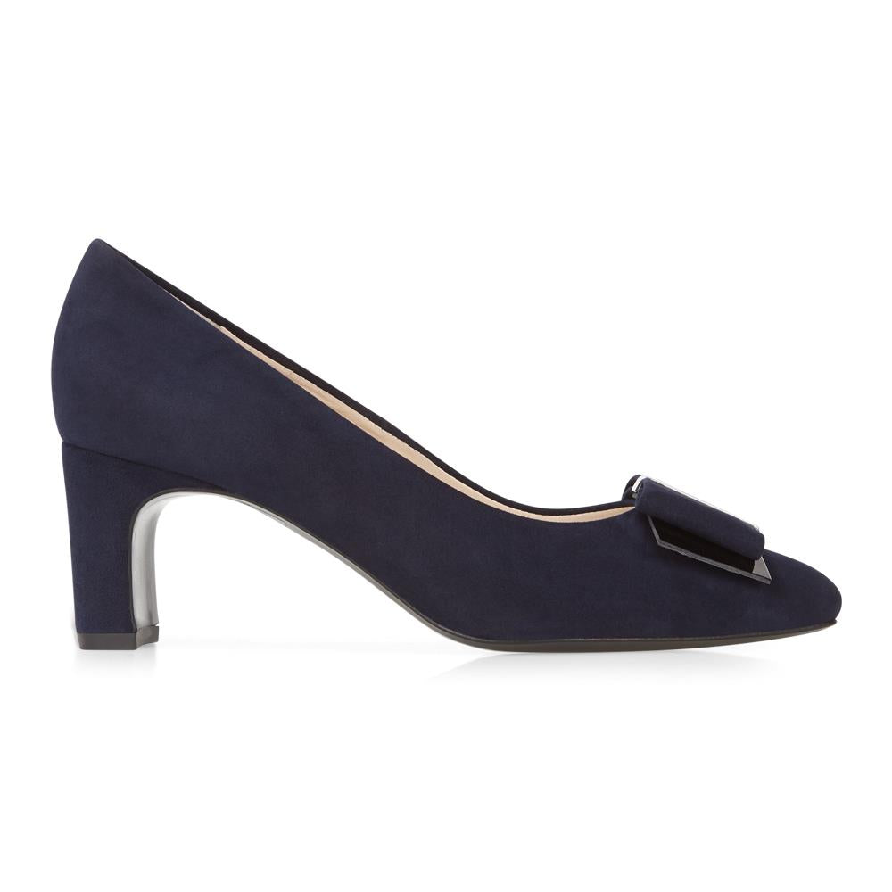 Pavilia Heeled Leather Court Shoe - PAVILIA / 26102657
