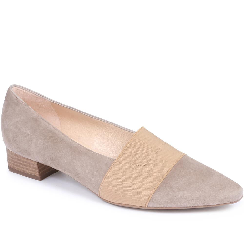 Suede Court Shoe - KAIS29509 / 314 943