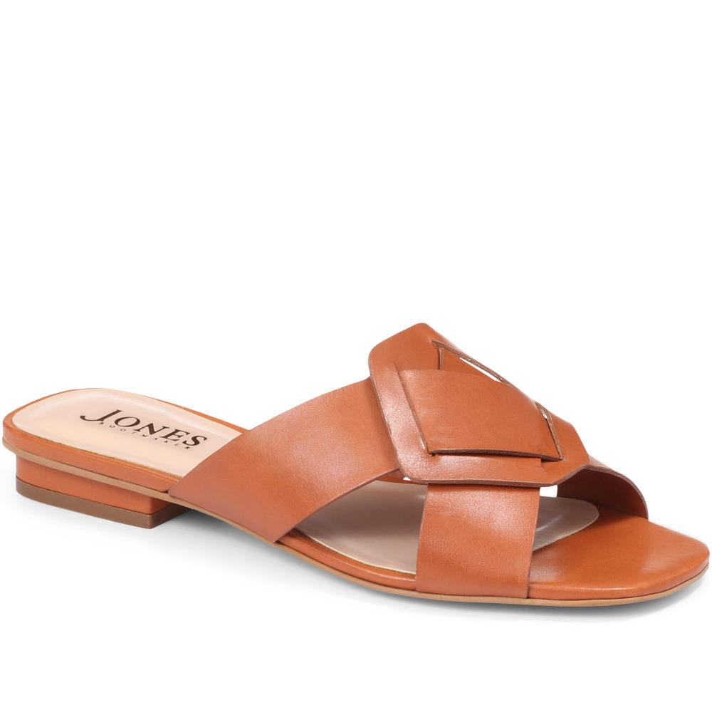 Suzannah Leather Slider Sandal - GVD29501 / 315 540