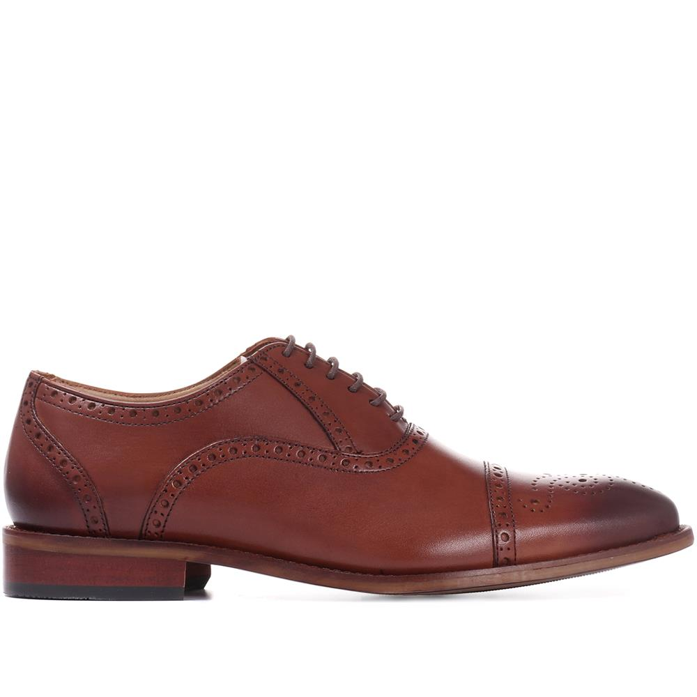 Maynard Leather Oxford Brogue - MAYNARD / 27254364