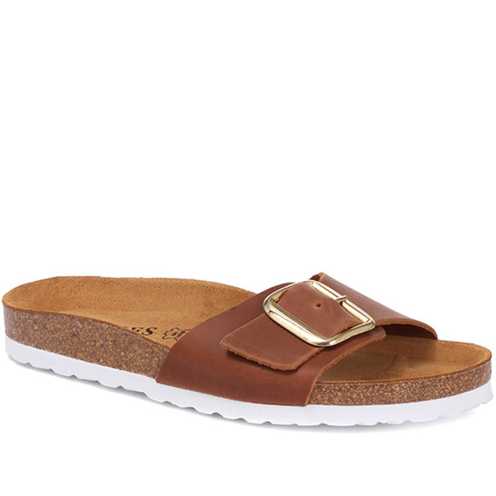 Leather Mule Sandal - FELIX29502 / 315 864