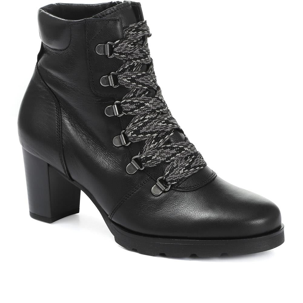 Magda Heeled Hiker Ankle Boot - GAB30559 / 316 637