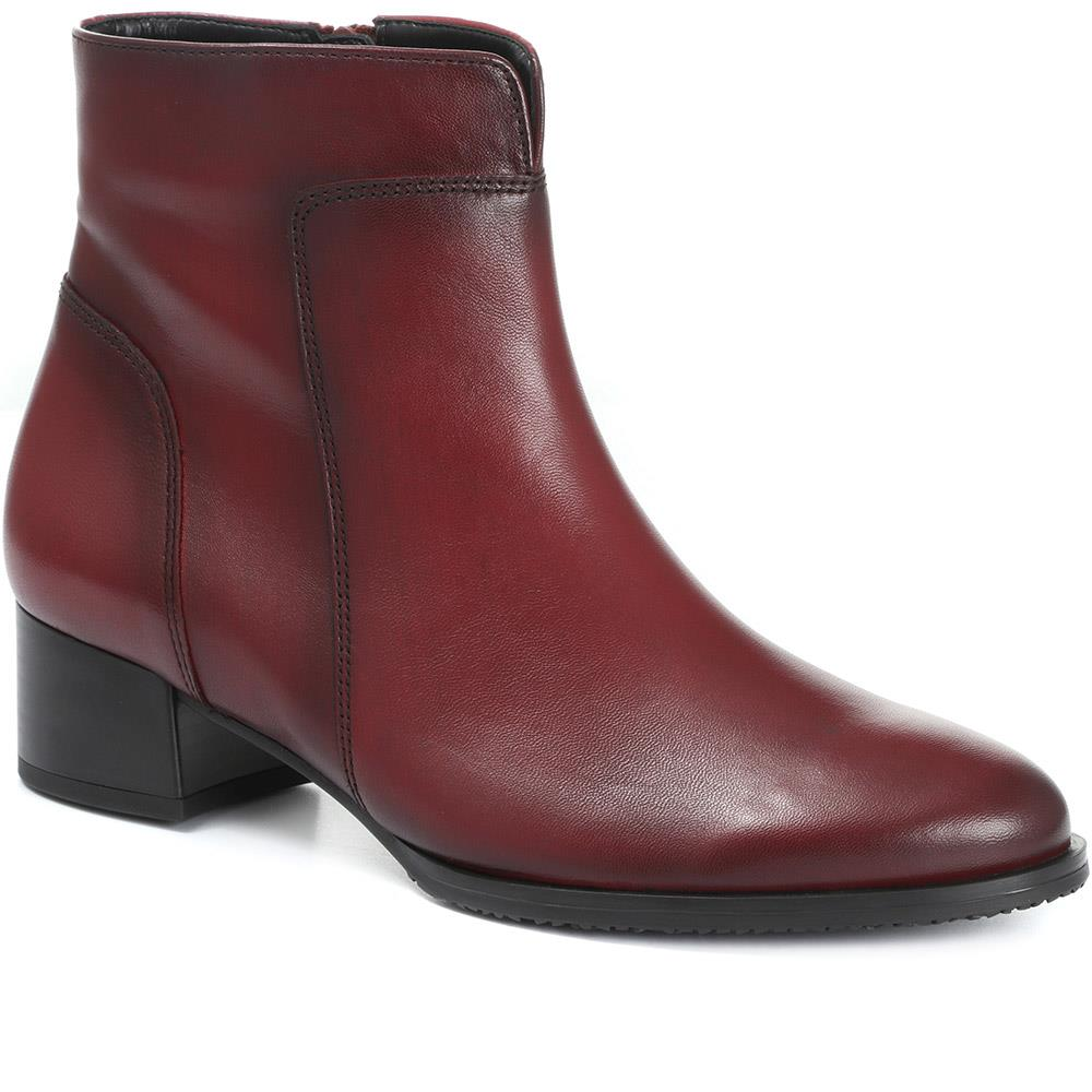Delphino Leather Ankle Boot - GAB30556 / 316 634