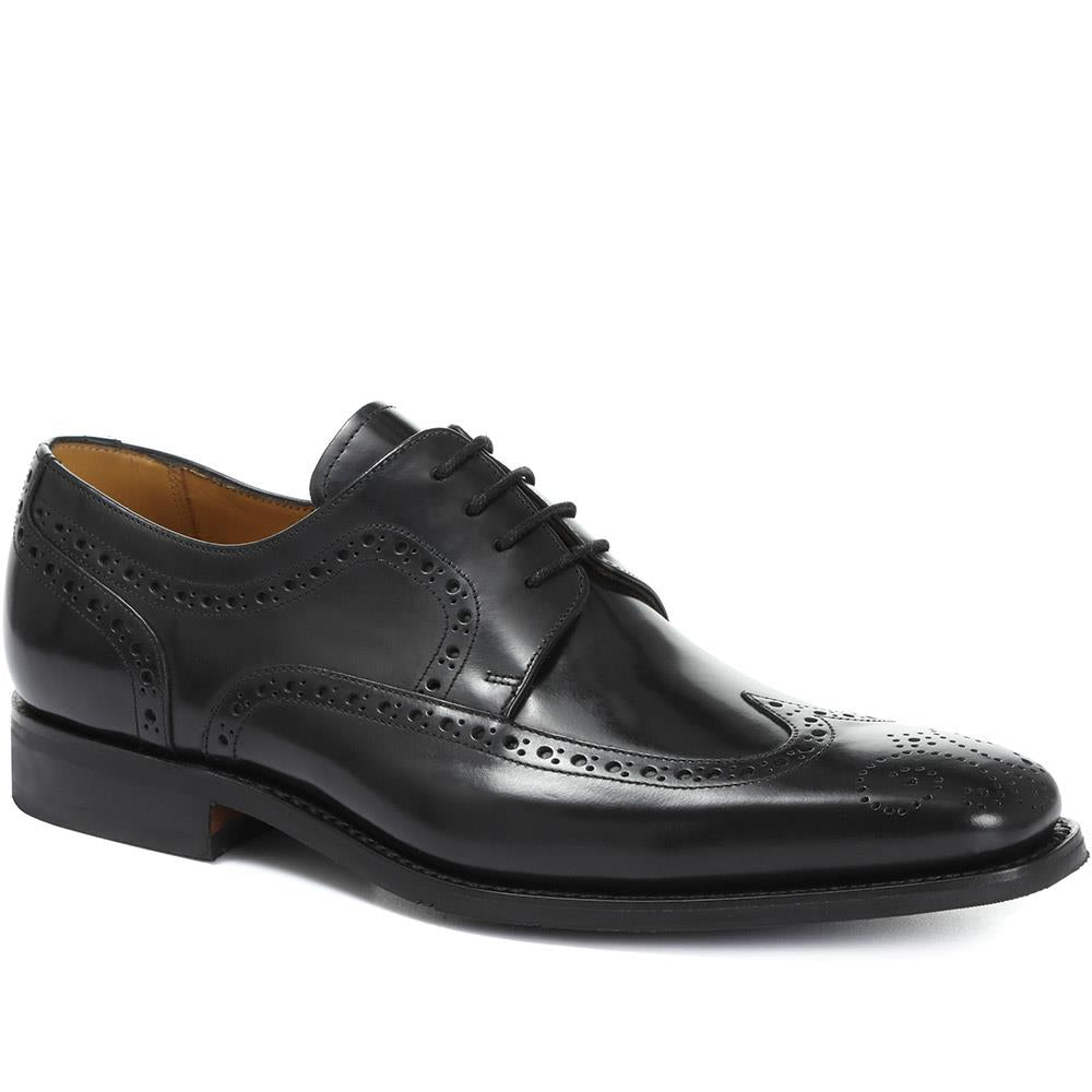 Larry Leather Derby Wing-Tip Brogue - BARFP30501 / 316 953