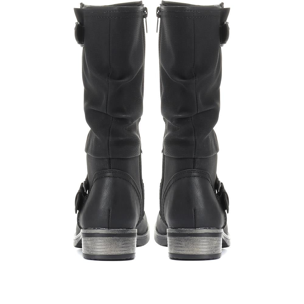Mid-Calf Slouch Boot - RKR28552 / 313 665