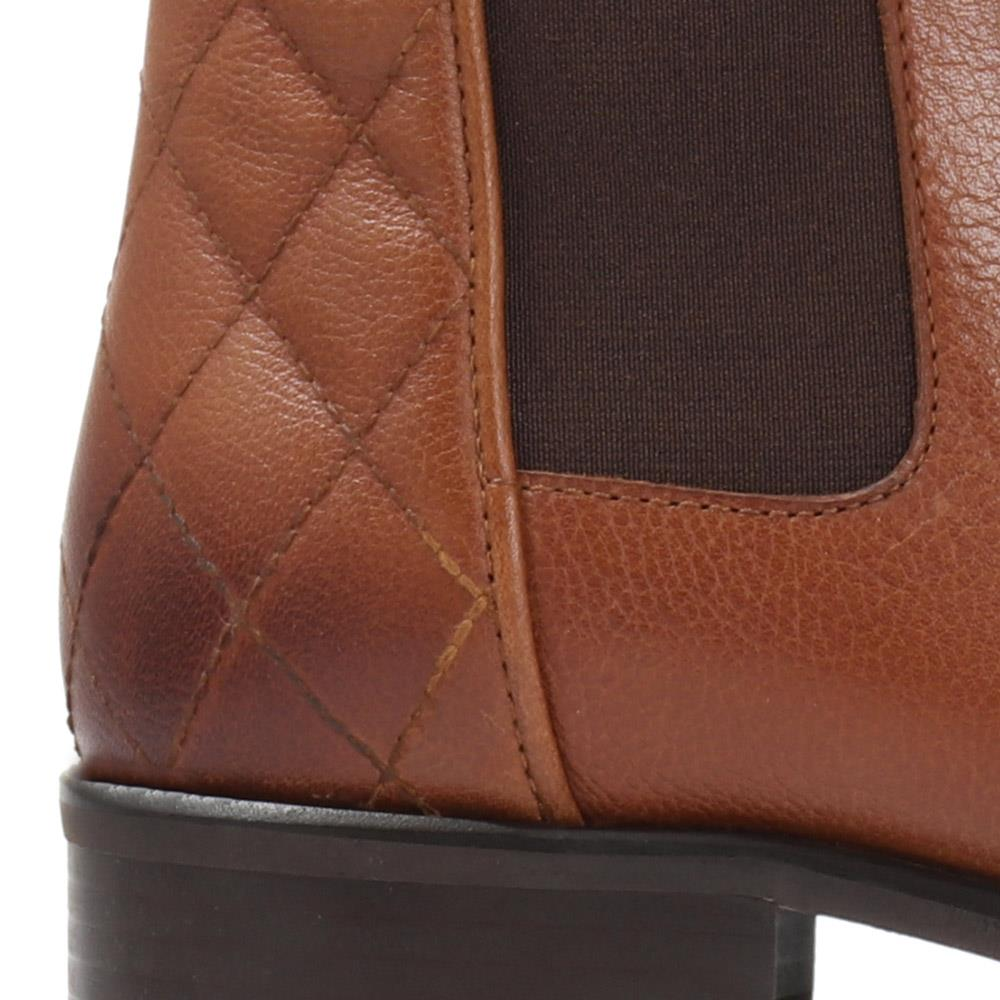 Quilted Leather Chelsea Boot - MKOC30509 / 317 088