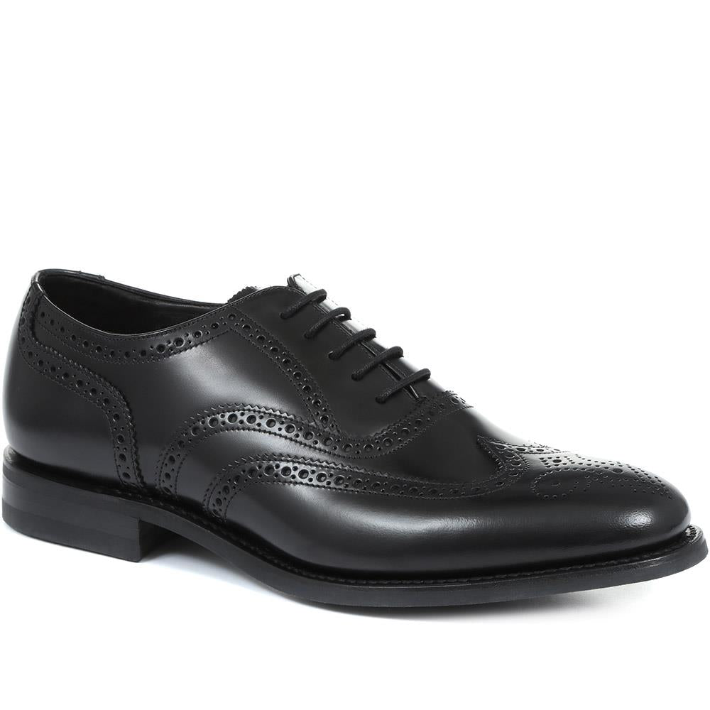 Cherokee Wide Fit Leather Oxford Brogues - LOA31503 / 317 646