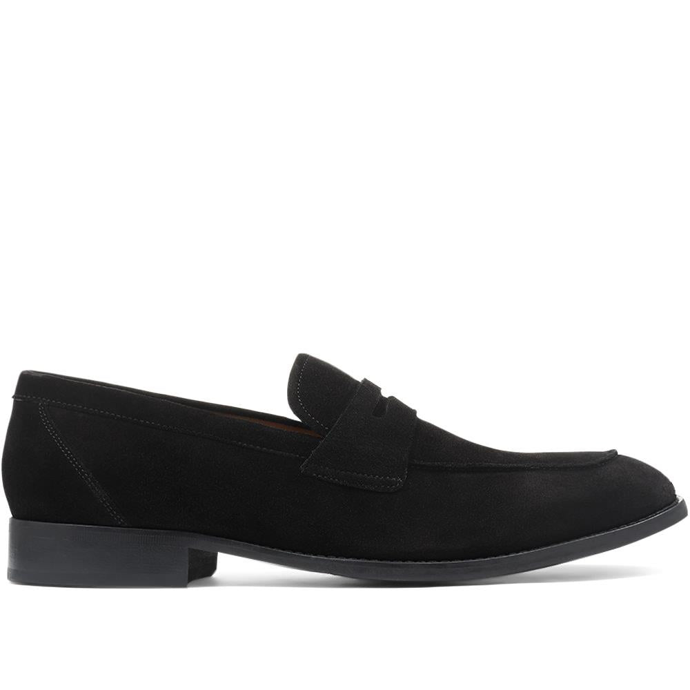 Leather Penny Loafers - DAVINC29511 / 316 003