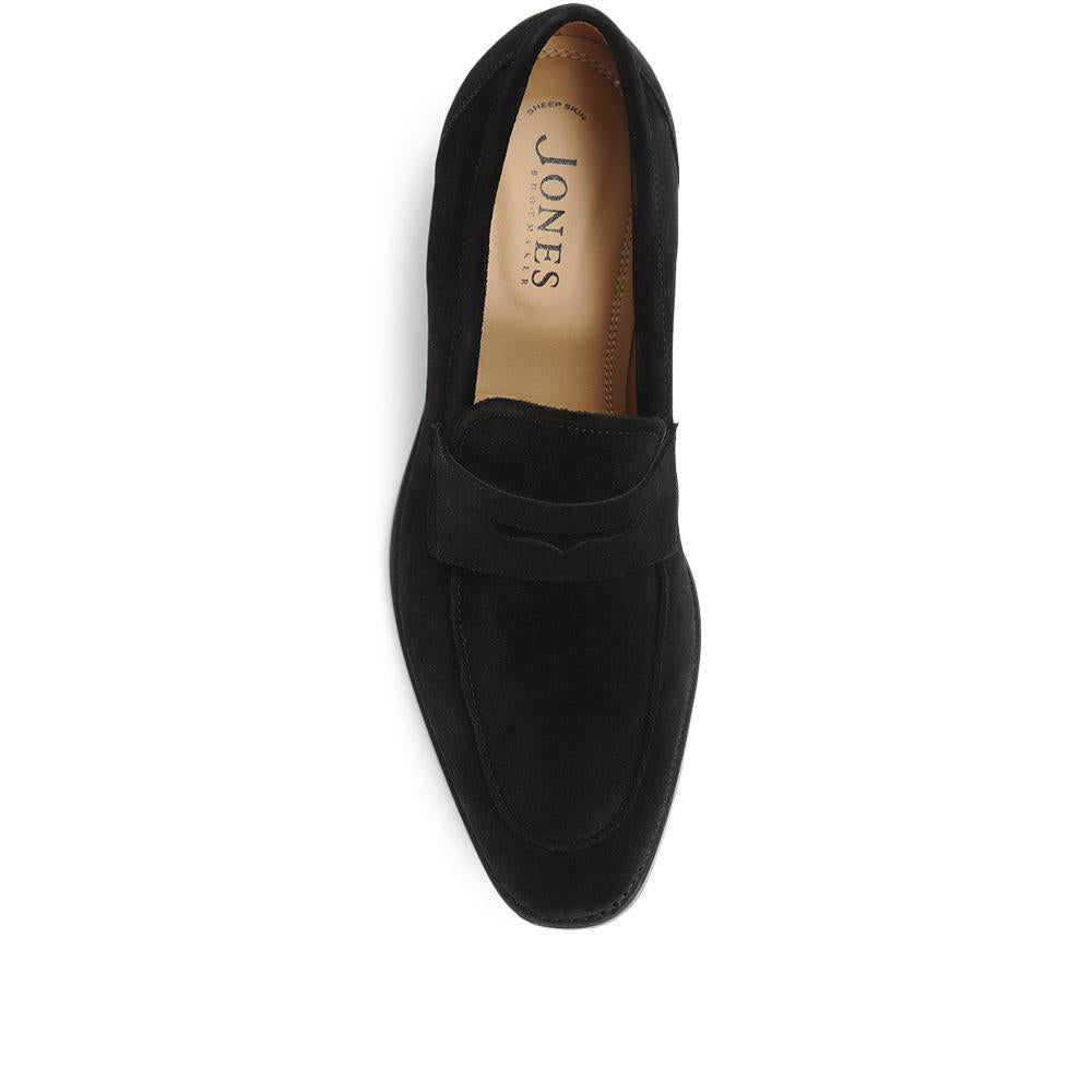 James Leather Penny Loafers - DAVINC29511 / 316 003