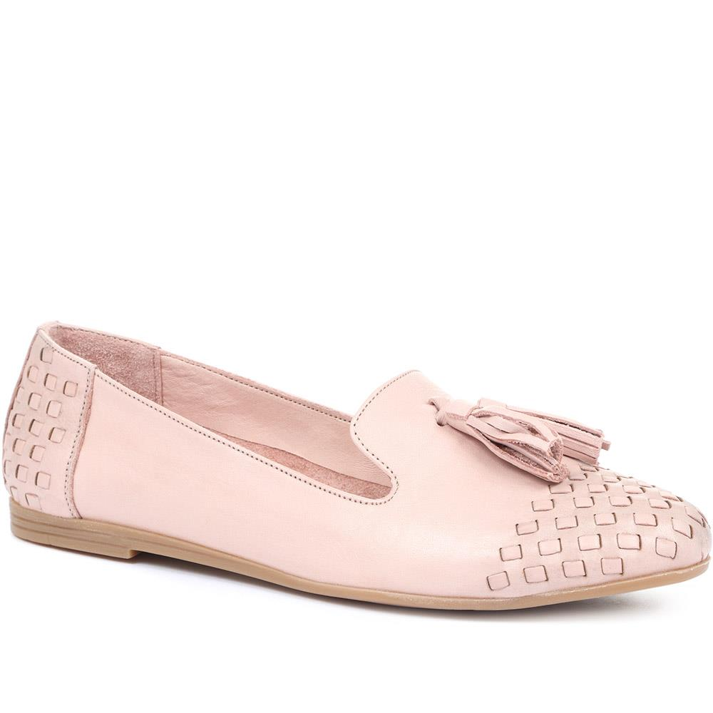 Roisin Leather Loafer Pump - ROISIN / 318 498