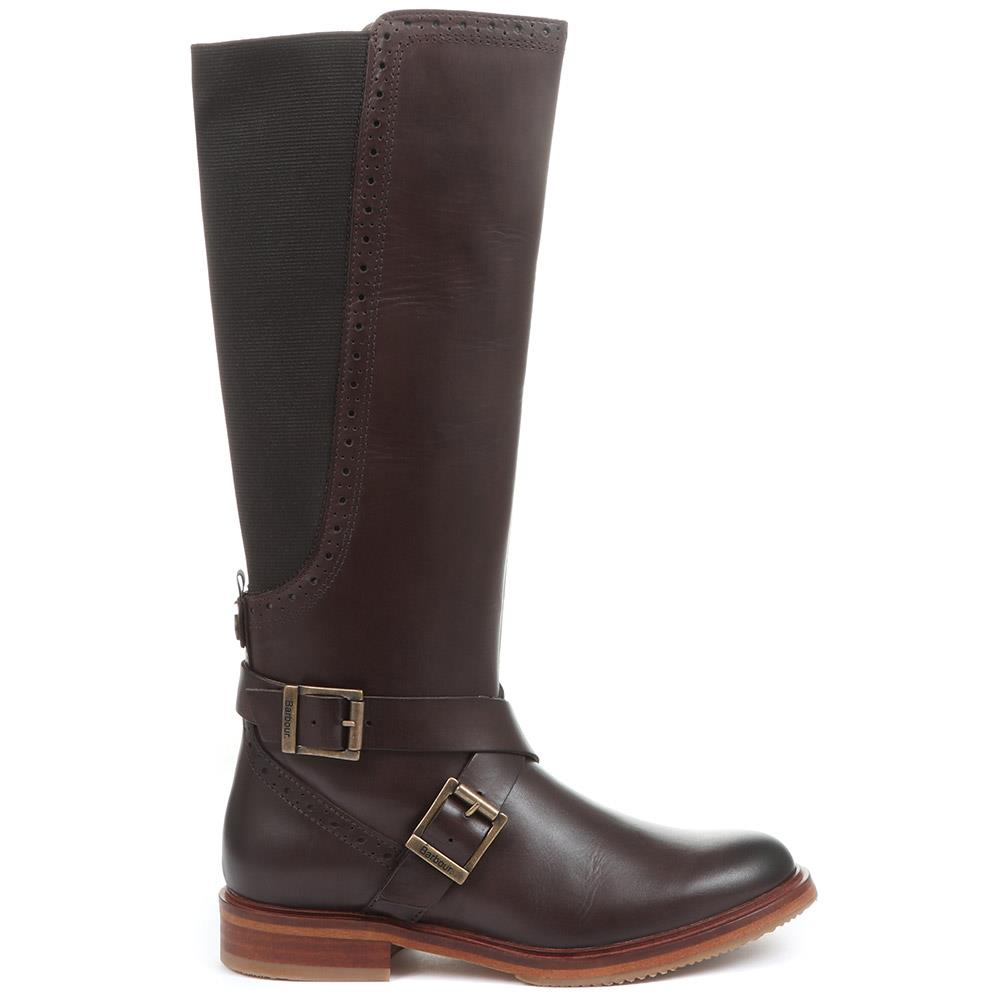 Mary Leather Knee High Boots - BARBR32515 / 318 627