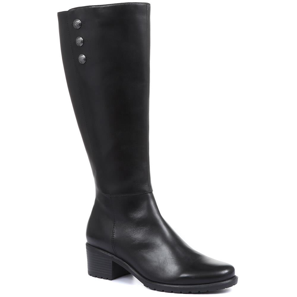Grantley Leather Knee High Boots - SINO32514 / 319 176