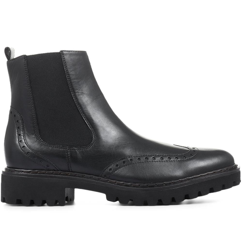 Turin Brogue Chelsea Boots - TURIN / 318 952